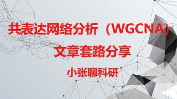 共表达网络分析(WGCNA)文章套路分享