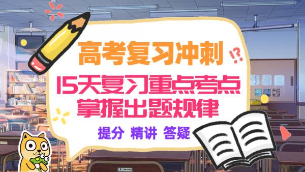 高考日语15天冲刺复习 重点考点掌握出题规律 高速提分30分