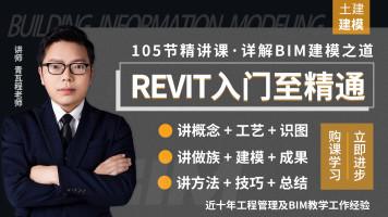 Revit建模入门至精通,概念+建模实战+技巧总结,BIM建模实战课程