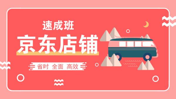 京东店铺运营速成培训课程