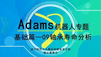 Adams机器人专题-09轴承寿命分析2
