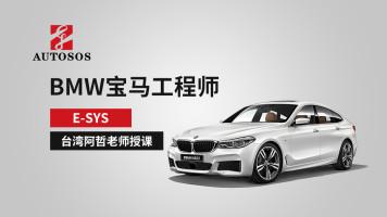 BMW宝马工程师E-SYS台湾阿哲老师授课