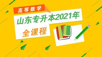 山东专升本2021年高等数学全课程