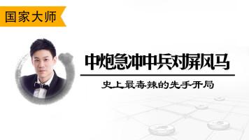 中炮急冲中兵对屏风马(先手立场)-直播讲棋第一人陈栋绝学!