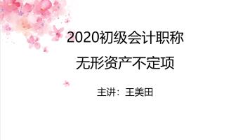 2020初级会计职称无形资产不定项