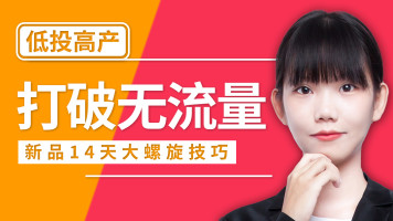 【爆款】精解新品14天大螺旋 淘宝开店运营技巧【齐论】