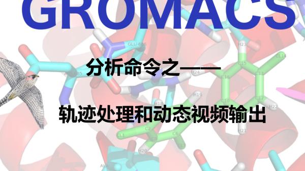 GROMACS分析命令之轨迹处理和动态视频输出