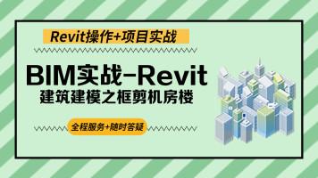 BIM实战-Revit建筑建模之框剪机房【启程学院】
