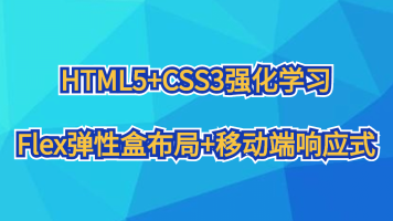 HTML5+CSS3强化学习(Flex弹性盒布局+移动端响应式)