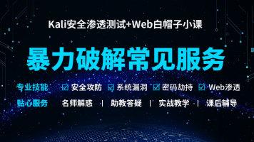 Kali渗透/网络安全/linux/攻防/漏洞挖掘/暴力破解常见服务