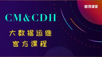 CM和CDH大数据运维官方课程