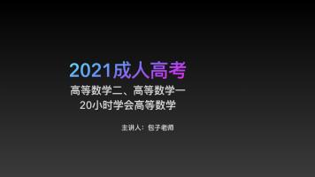 2021年成人高考-高等数学-专升本起点