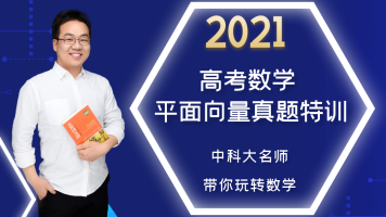 2021高考数学/平面向量高考真题特训班/高中数学