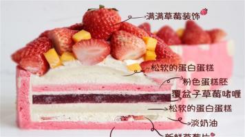 超梦幻粉色公主蛋糕系列!