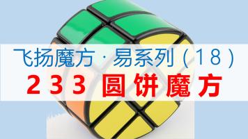 233圆饼魔方复原教程【飞扬魔方·易系列】