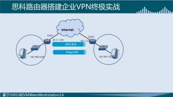 思科路由器搭建企业VPN终极实战