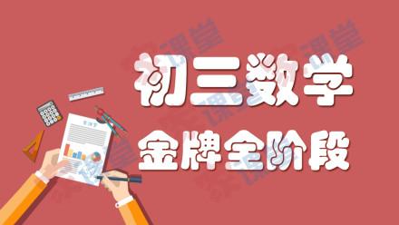 初三数学金牌全阶段系列课程【家课堂网校】