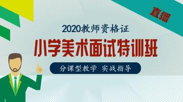 2021上半年教师资格证【小学美术】面试特训班