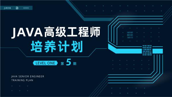 Java高级工程师培养计划 第五期 LevelOne [渡一教育]
