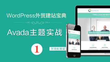 Avada主题WordPress外贸建站实战宝典-西米课