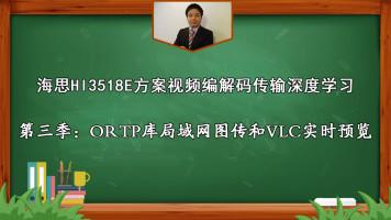 海思第3季:ORTP库局域网图传和VLC实时预览