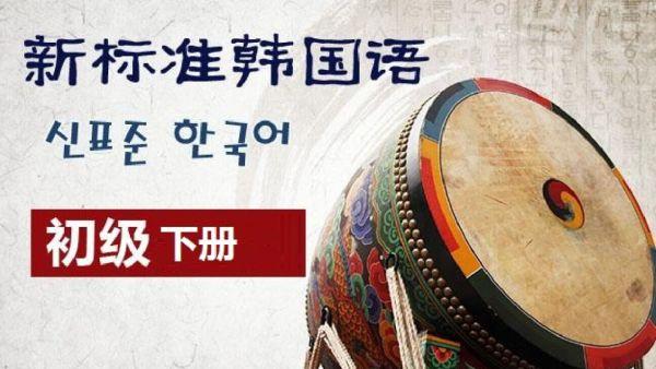 新标准韩国语初级下册全套视频教学(TOPIK2级)韩语乐乐老师