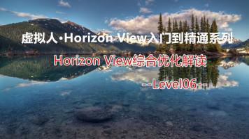 虚拟人· Horizon View综合优化解读(L6)