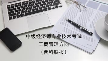 中级经济师专业技术考试工商管理方向(两科联报)