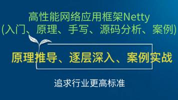 2020年高性能网络应用框架Netty (入门、原理、源码分析、案例)