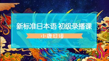 零基础日语新标准日本语第二版初级上册视频课程录播课免费答疑