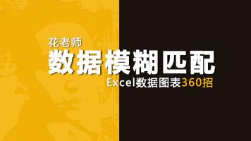 《Excel数据图表360招之数据模糊匹配》花随花心著