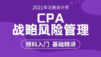 2021注会战略|战略管理课程|注会会计|注册会计师 cpa|战略