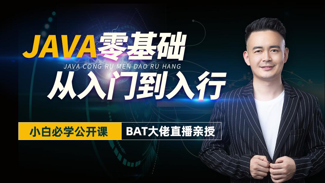 Java零基础/年薪20W系列/Java介绍/职业规划/项目实战