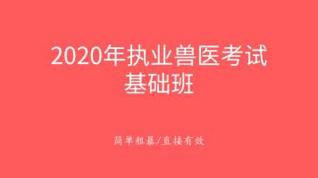指兽2020年执业兽医考试基础班公开课