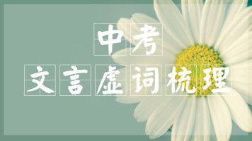 中考文言虚词梳理