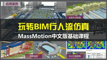 玩转BIM行人流仿真-MassMotion中文版基础课程