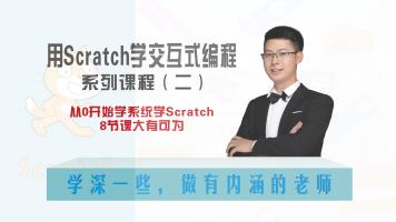 用Scratch学交互式编程二(你瞅啥)