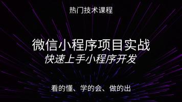 大白话学懂微信小程序实战项目