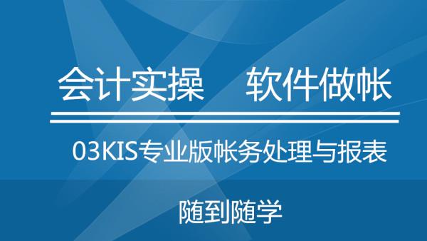 23金蝶KIS专业版帐务处理与报表