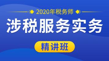 2020税务师《涉税服务实务》注册税务师|零基础快速入门|免费学