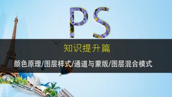 PS实战篇:颜色原理/图层样式/通道与蒙版/图层混合模式