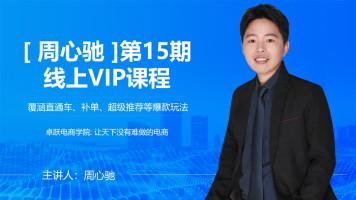 【卓跃 周心驰】第15期线上VIP课程 爆款打造新手中小卖家拉搜索