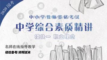 2019教师资格证《综合素质》【适合小学、初、高中】系统精讲