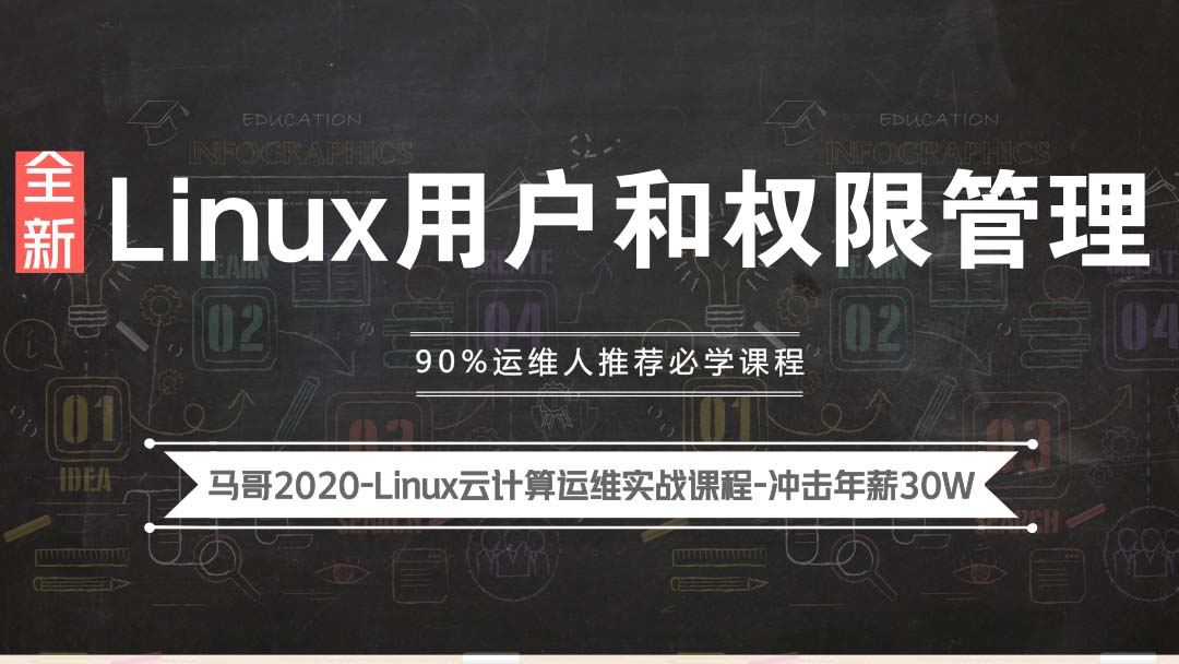 Linux教程-2020全新Linux用户和权限管理