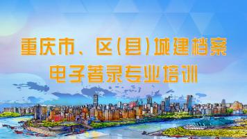 重庆市、区(县)城建档案电子著录专业培训