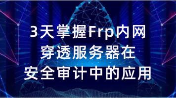 3天掌握Frp内网穿透服务器在安全审计中的应用