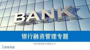 15系列之六:财务银行融资管理专题