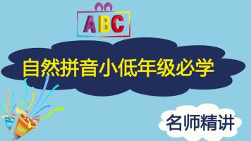 小学拼音自然拼音0级+1级+2级 小低英语必学课程