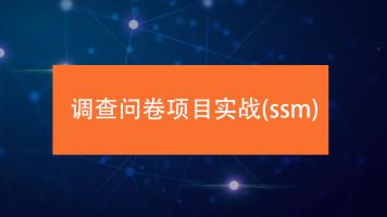 项目实战-ssm框架-投票系统-调查问卷