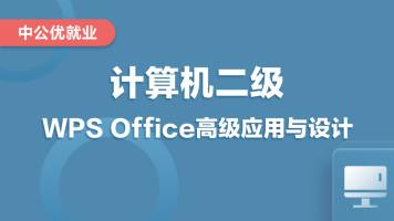 【一套搞定】WPS Office高级应用与设计